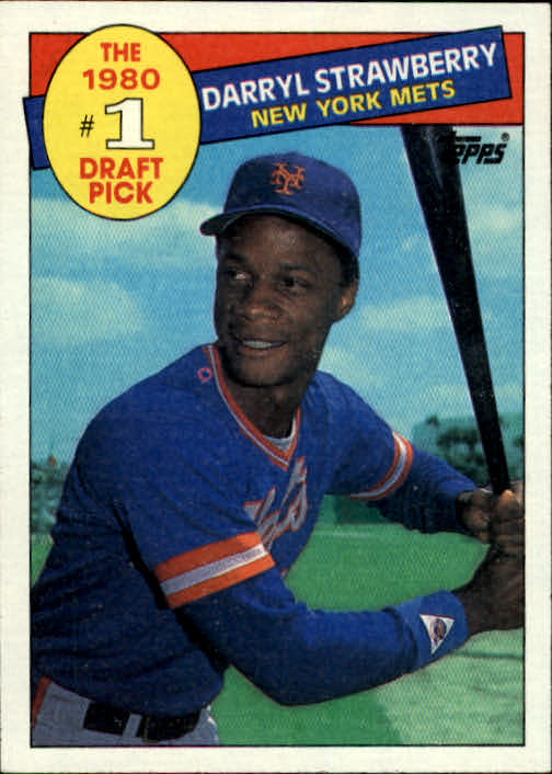 1985 Topps #278 Darryl Strawberry FDP