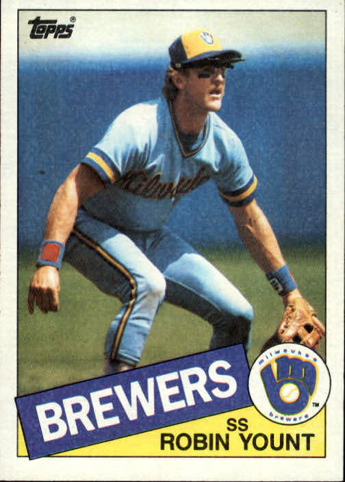 1985 Topps #340 Robin Yount