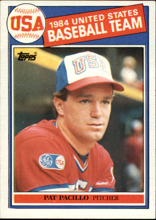 1985 Topps #402 Pat Pacillo OLY RC