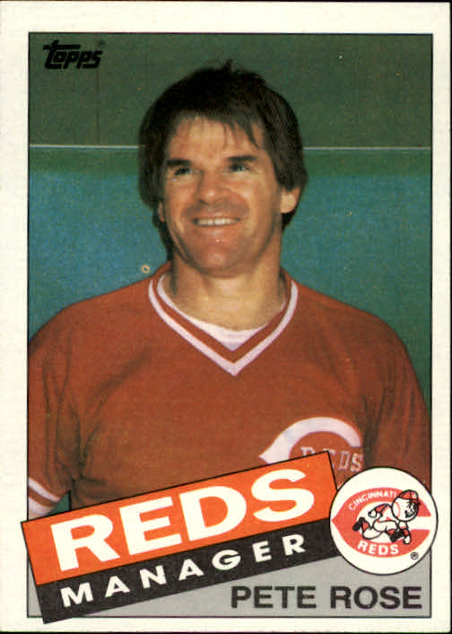 1985 Topps #547 Pete Rose MG