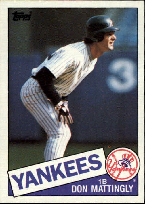 1985 Topps #665 Don Mattingly