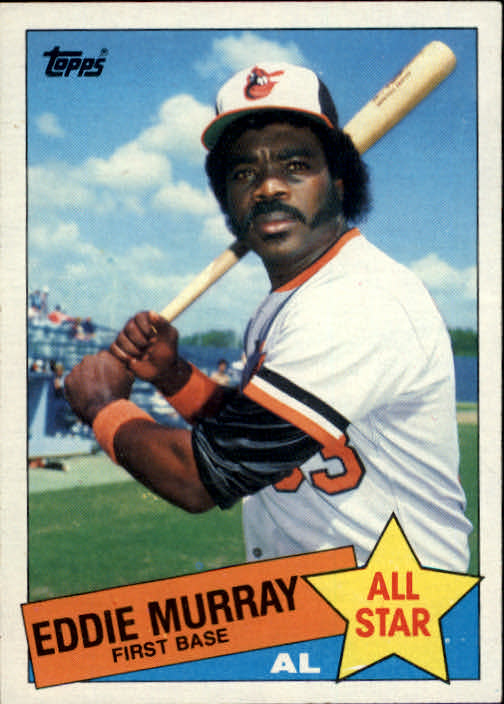1985 Topps #701 Eddie Murray AS front image