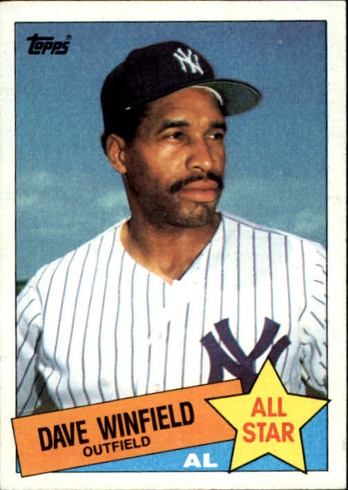 1985 Topps #705 Dave Winfield AS