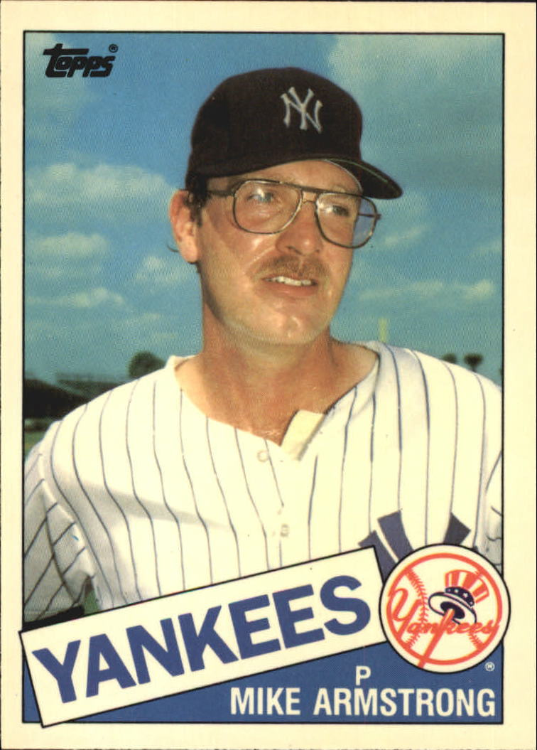 1985 Topps Tiffany #612 Mike Armstrong