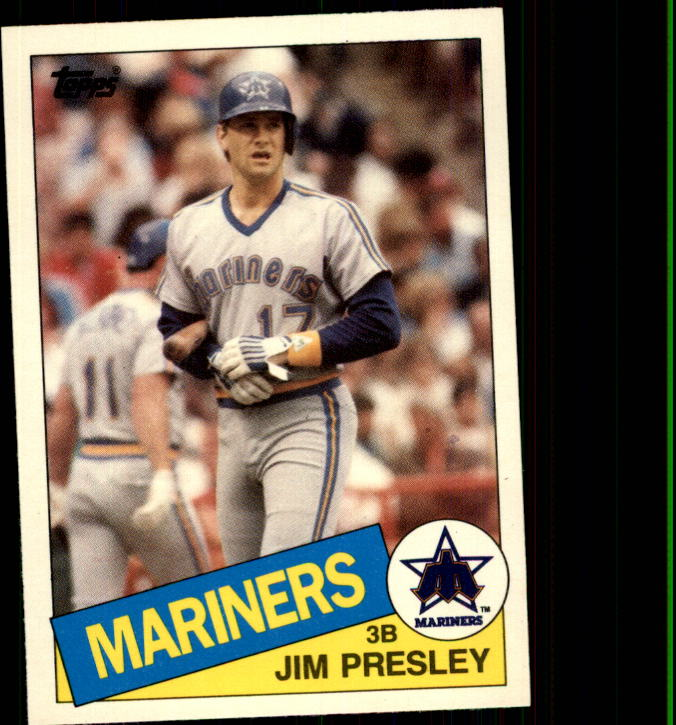 1985 Topps Traded #92T Jim Presley