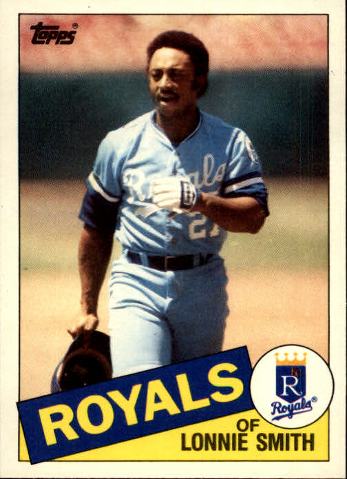 1985 Topps Traded #109T Lonnie Smith