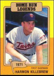1986 Big League Chew #5 Harmon Killebrew