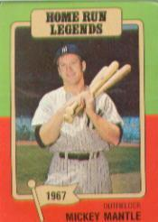 1986 Big League Chew #6 Mickey Mantle