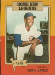 1986 Big League Chew #9 Ernie Banks