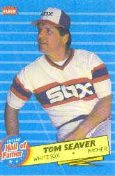 1986 Fleer Future Hall of Famers #3 Tom Seaver