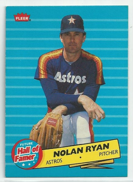 1986 Fleer Future Hall of Famers #5 Nolan Ryan