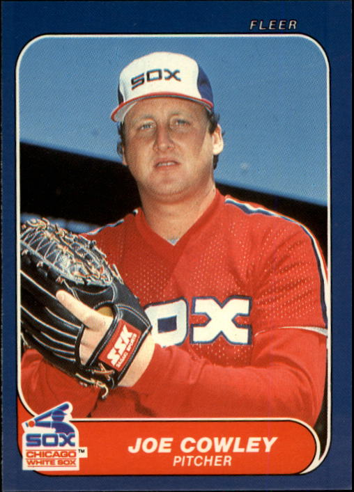 1986 Fleer Update #31 Joe Cowley