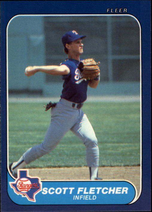 1986 Fleer Update #41 Scott Fletcher