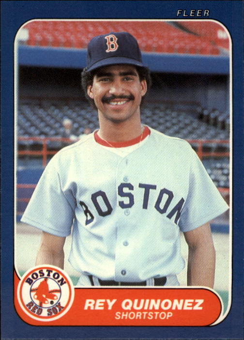 1986 Fleer Update #93 Rey Quinones UER/(Misspelled Quinonez)