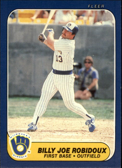 1986 Fleer Update #97 Billy Joe Robidoux