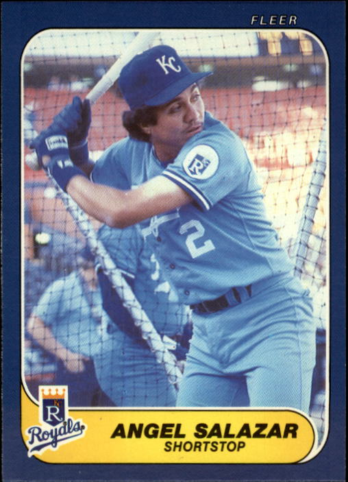 1986 Fleer Update #100 Angel Salazar