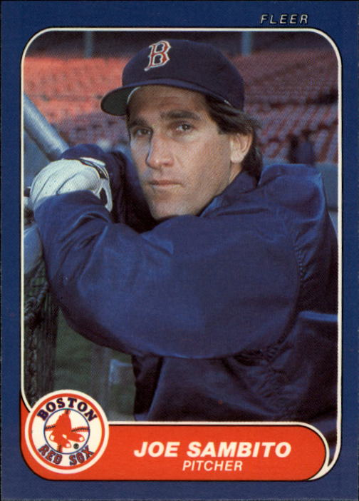1986 Fleer Update #101 Joe Sambito