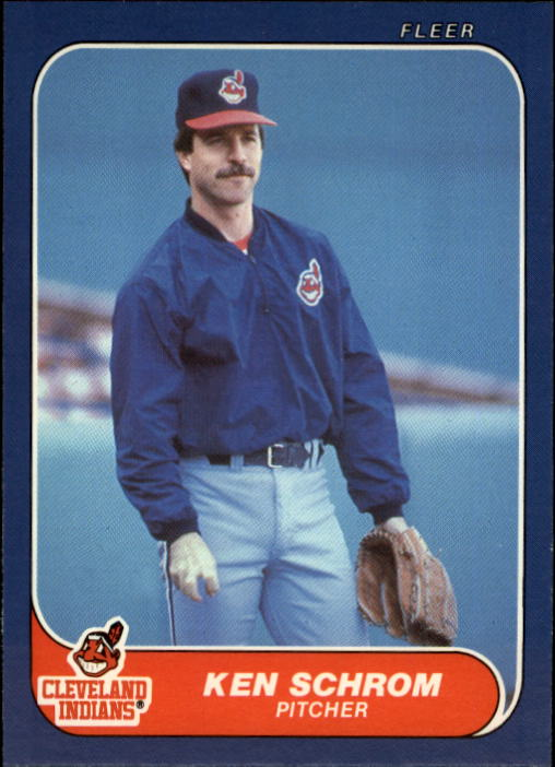 1986 Fleer Update #104 Ken Schrom