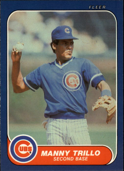 1986 Fleer Update #120 Manny Trillo