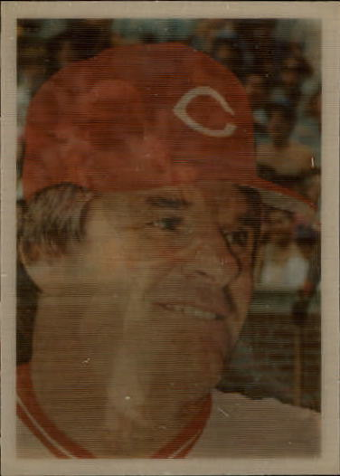 1986 Sportflics #50 Pete Rose