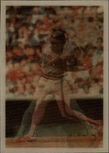 1986 Sportflics #106 Rod Carew