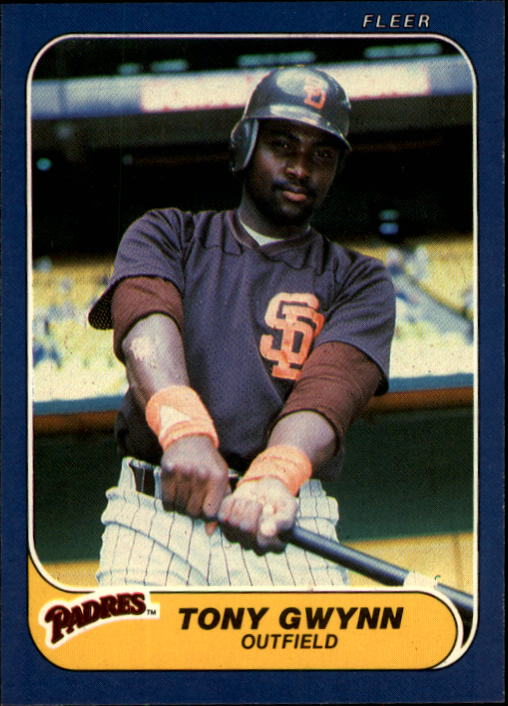 1986 Fleer #323 Tony Gwynn