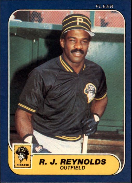 1986 Fleer #619 R.J. Reynolds