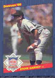 1986 Donruss All-Stars #3 Steve Garvey