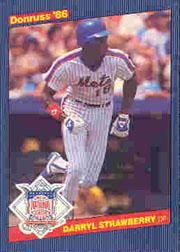 1986 Donruss All-Stars #5 Darryl Strawberry