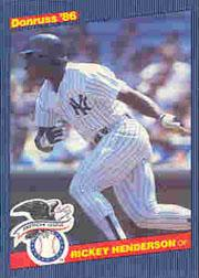 1986 Donruss All-Stars #10 Rickey Henderson