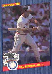 1986 Donruss All-Stars #14 Cal Ripken