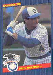 1986 Donruss All-Stars #39 Paul Molitor