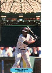 1986 Donruss Pop-Ups #1 Tony Gwynn