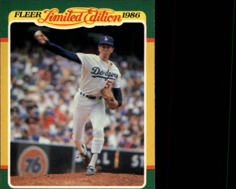 1986 Fleer Limited Edition #24 Orel Hershiser