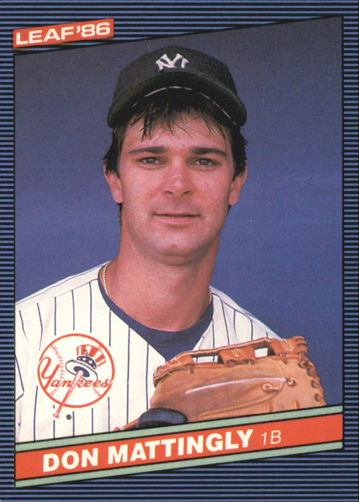 1986 Leaf/Donruss #103 Don Mattingly