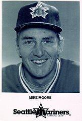 1986 Mariners Pacific Northwest Bell #8 Mike Moore