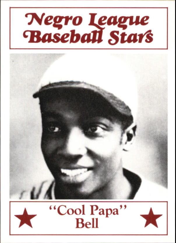 1986 Negro League Fritsch #3 Cool Papa Bell