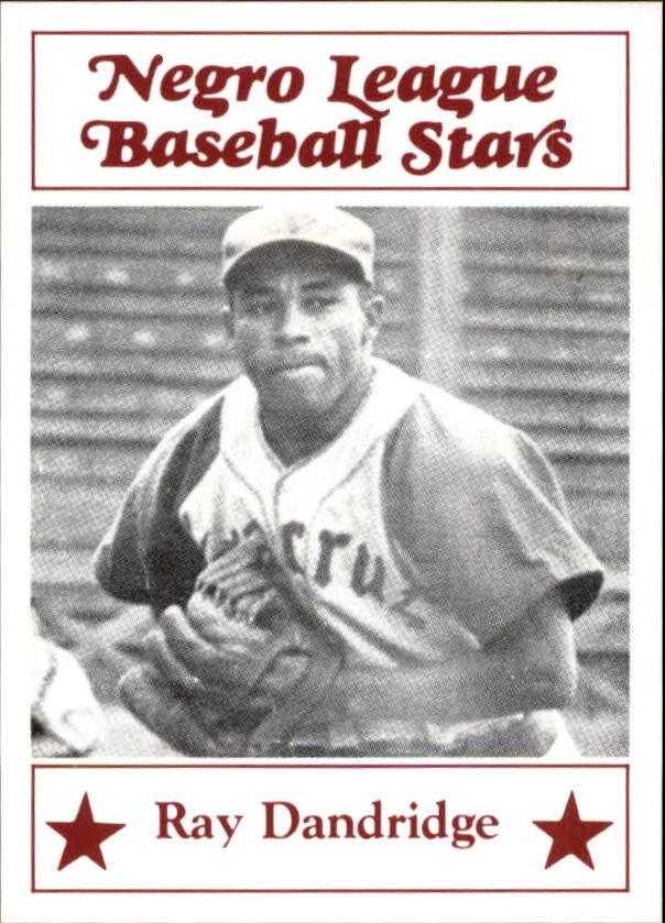 1986 Negro League Fritsch #7 Ray Dandridge