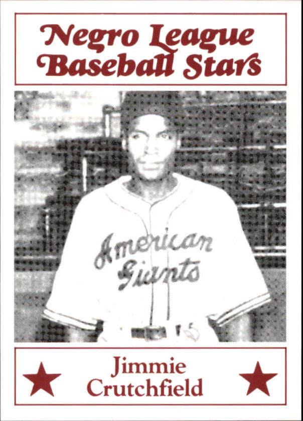 1986 Negro League Fritsch #29 Jimmie Crutchfield