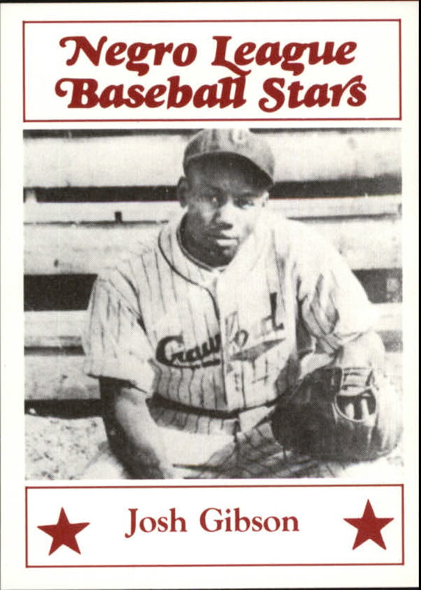 1986 Negro League Fritsch #30 Josh Gibson