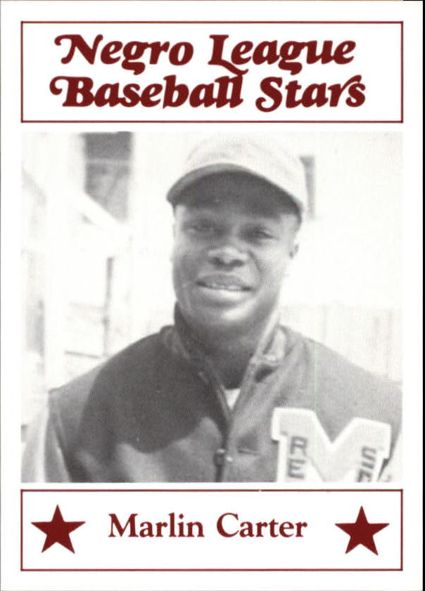 1986 Negro League Fritsch #50 Marlin Carter