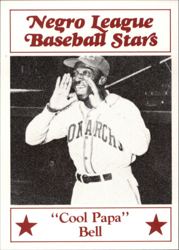 1986 Negro League Fritsch #90 Cool Papa Bell