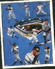 1986 TCMA Superstars Simon #9 Superstar Card Set/Yanks of Yesteryear
