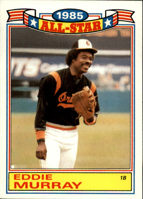 1986 Topps Glossy All-Stars #2 Eddie Murray