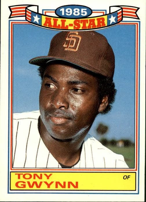 1986 Topps Glossy All-Stars #17 Tony Gwynn