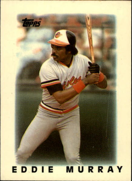 1986 Topps Mini Leaders #1 Eddie Murray