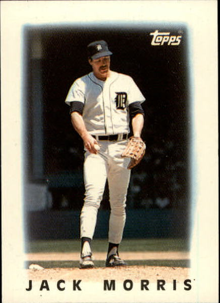 1986 Topps Mini Leaders #14 Jack Morris