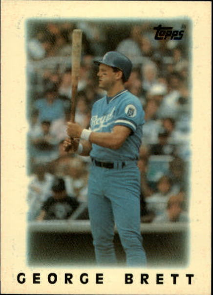 1986 Topps Mini Leaders #18 George Brett