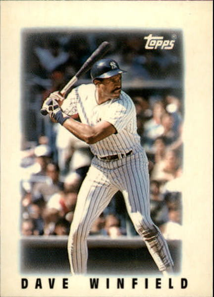 1986 Topps Mini Leaders #29 Dave Winfield