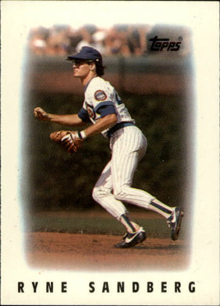 1986 Topps Mini Leaders #39 Ryne Sandberg